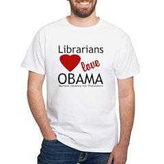 Librarians Love Obama Shirt