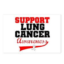 SupportLungCancerAwareness Postcards (Package of 8