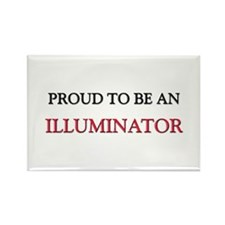 Proud To Be A ILLUMINATOR Rectangle Magnet (10 pac