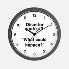 What could happen? - Wall Clock