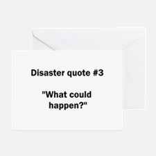 What could happen? - Greeting Card