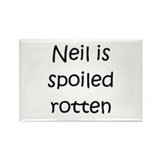 Cool Neil Rectangle Magnet