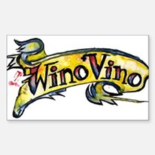 WinoVino Rectangle Decal