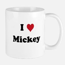 I love Mickey Small Small Mug