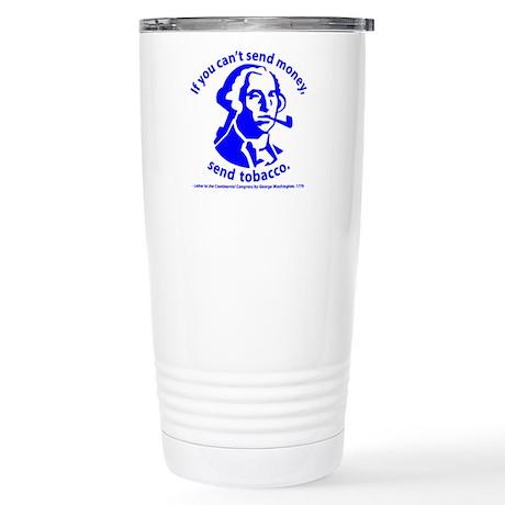 Washington's Pipe Stainless Steel Travel Mug