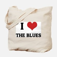 I Love the Blues Tote Bag