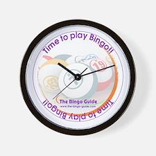 Bingo Lover's Wall Clock