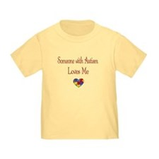 Autism Love Awareness Puzzle Heart T