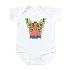 Green Wing Fairy Infant Bodysuit