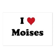 I love Moises Postcards (Package of 8)