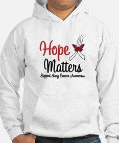 Lung Cancer Hope Matters Jumper Hoody