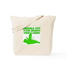 emerald city monkeys Tote Bag