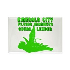 emerald city monkeys Rectangle Magnet