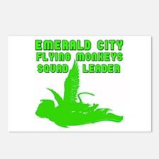 emerald city monkeys Postcards (Package of 8)
