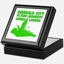 emerald city monkeys Keepsake Box