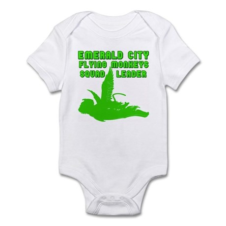 emerald city monkeys Infant Bodysuit