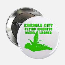 "emerald city monkeys 2.25"" Button"