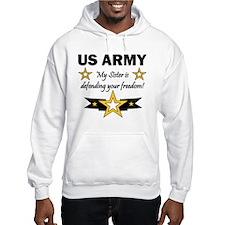 US Army Sister Patriotic Hoodie