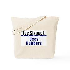 Joe: No Glove, No Love! Tote Bag