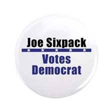 "Joe Democrat - 3.5"" Button (100 pack)"