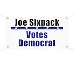 Joe Democrat - Banner