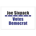 Joe Democrat - Large Poster