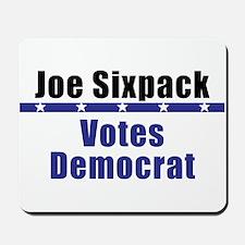 Joe Democrat - Mousepad