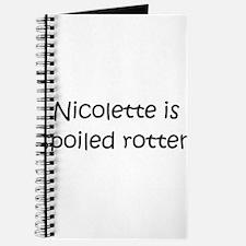 Unique Nicolette Journal