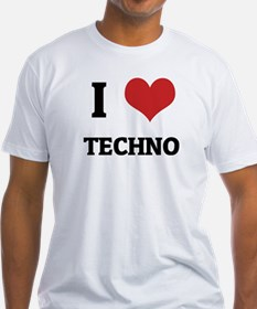 I Love Techno Shirt