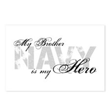 Brother is my Hero NAVY Postcards (Package of 8)