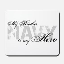 Brother is my Hero NAVY Mousepad