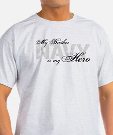 Brother is my Hero NAVY T-Shirt