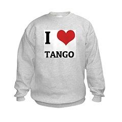 I Love Tango Sweatshirt