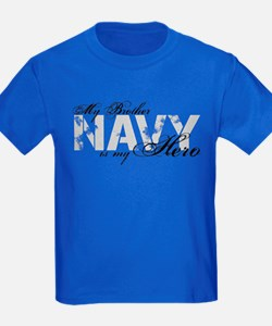 Brother is my Hero NAVY T