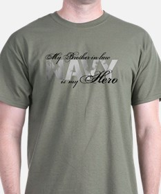 Brother-in-law is my Hero NAVY T-Shirt