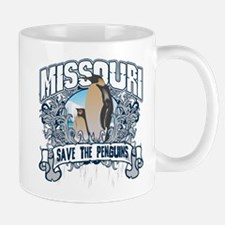 Save the Penguins Missouri Mug