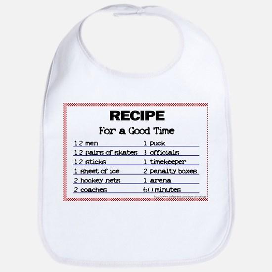 Hockey recipe. Bib
