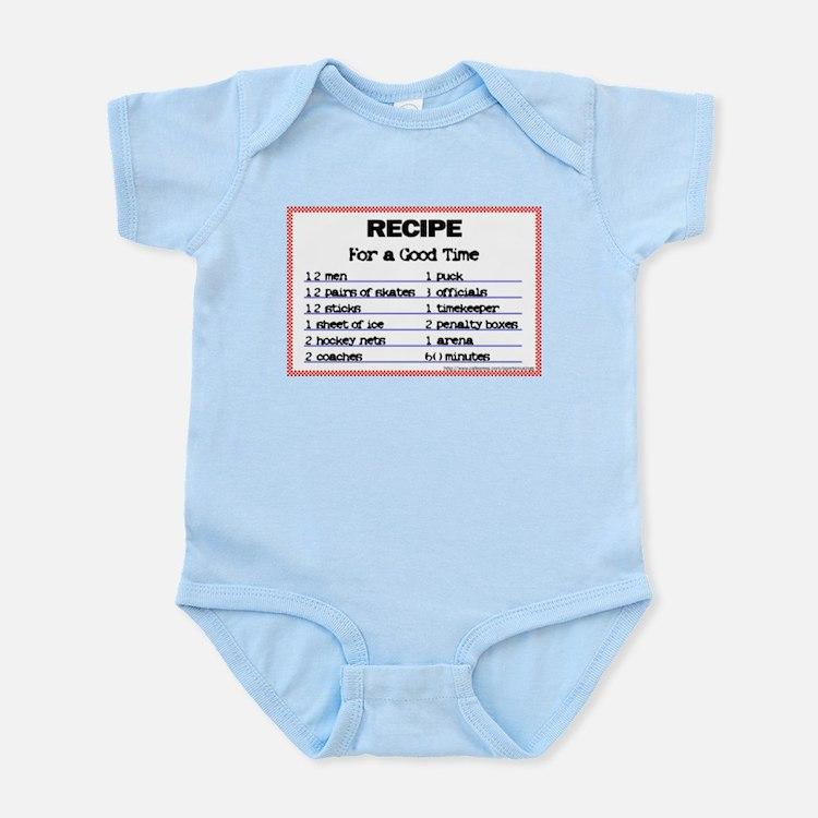 Hockey recipe. Infant Creeper