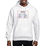 Hockey recipe. Hooded Sweatshirt
