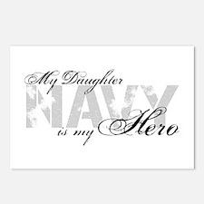 Daughter is my Hero NAVY Postcards (Package of 8)