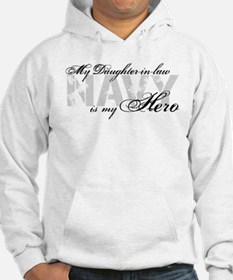 Daughter-in-law is my Hero NAVY Hoodie