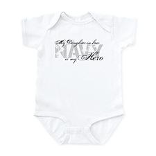 Daughter-in-law is my Hero NAVY Infant Bodysuit