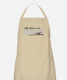 Father-in-law is my Hero NAVY BBQ Apron