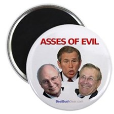 """Asses of Evil"" Magnet (10)"