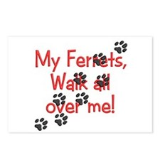 Walk all over me Postcards (Package of 8)