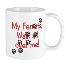 Walk all over me Mug