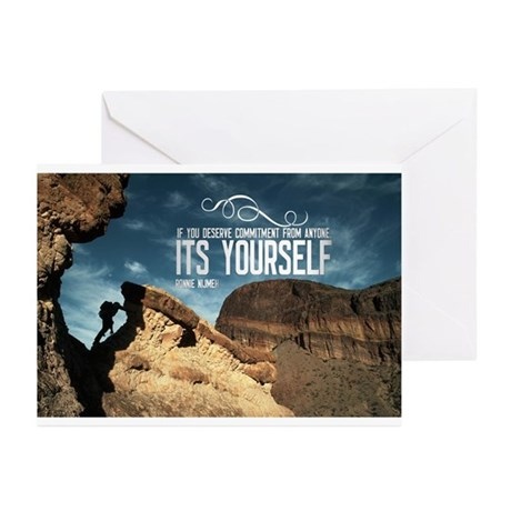 inspirational quote on greeting cards pk of 10 by