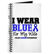 I Wear Blue Wife Journal
