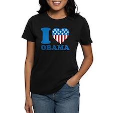 i Love Obama Classic I Heart Tee