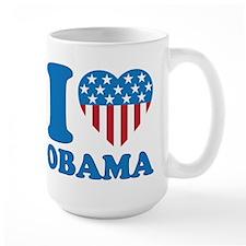 i Love Obama Classic I Heart Mug